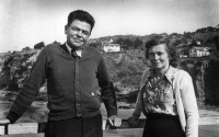 Laura and Carl Hubbs, December 1946