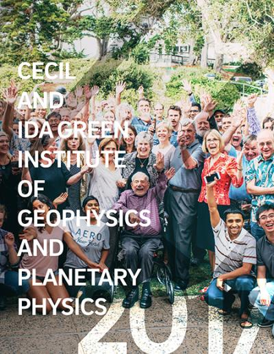 IGPP cover for geophysics page