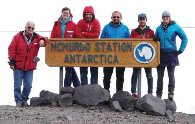 McMurdo station for geophysics