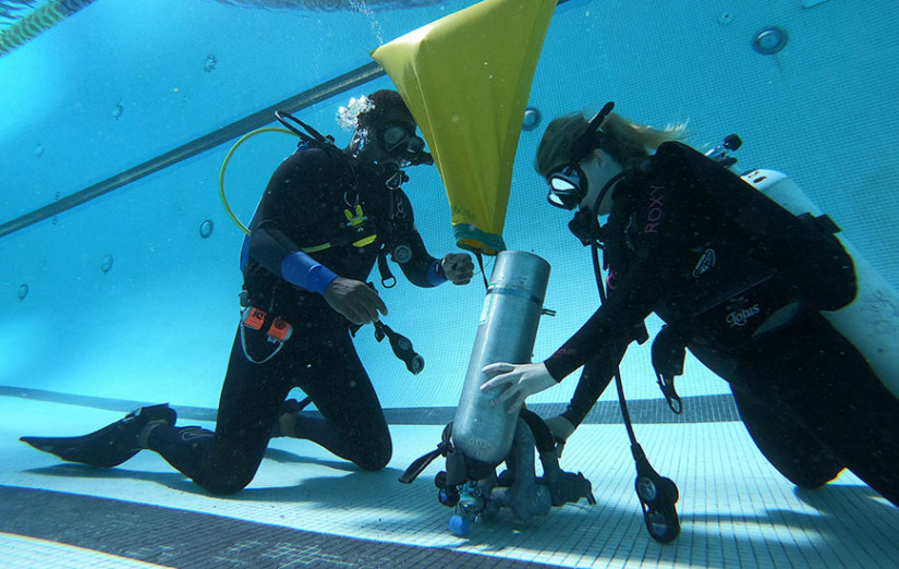 scientific diving about