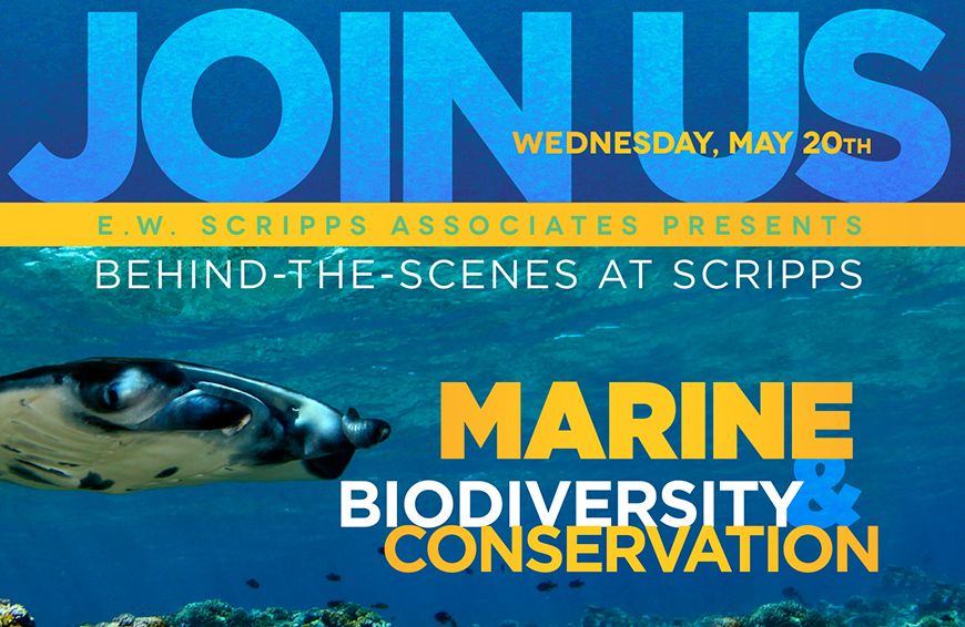 Join us for Behind-the-Scenes at Scripps: Marine Biodiversity and Conservation