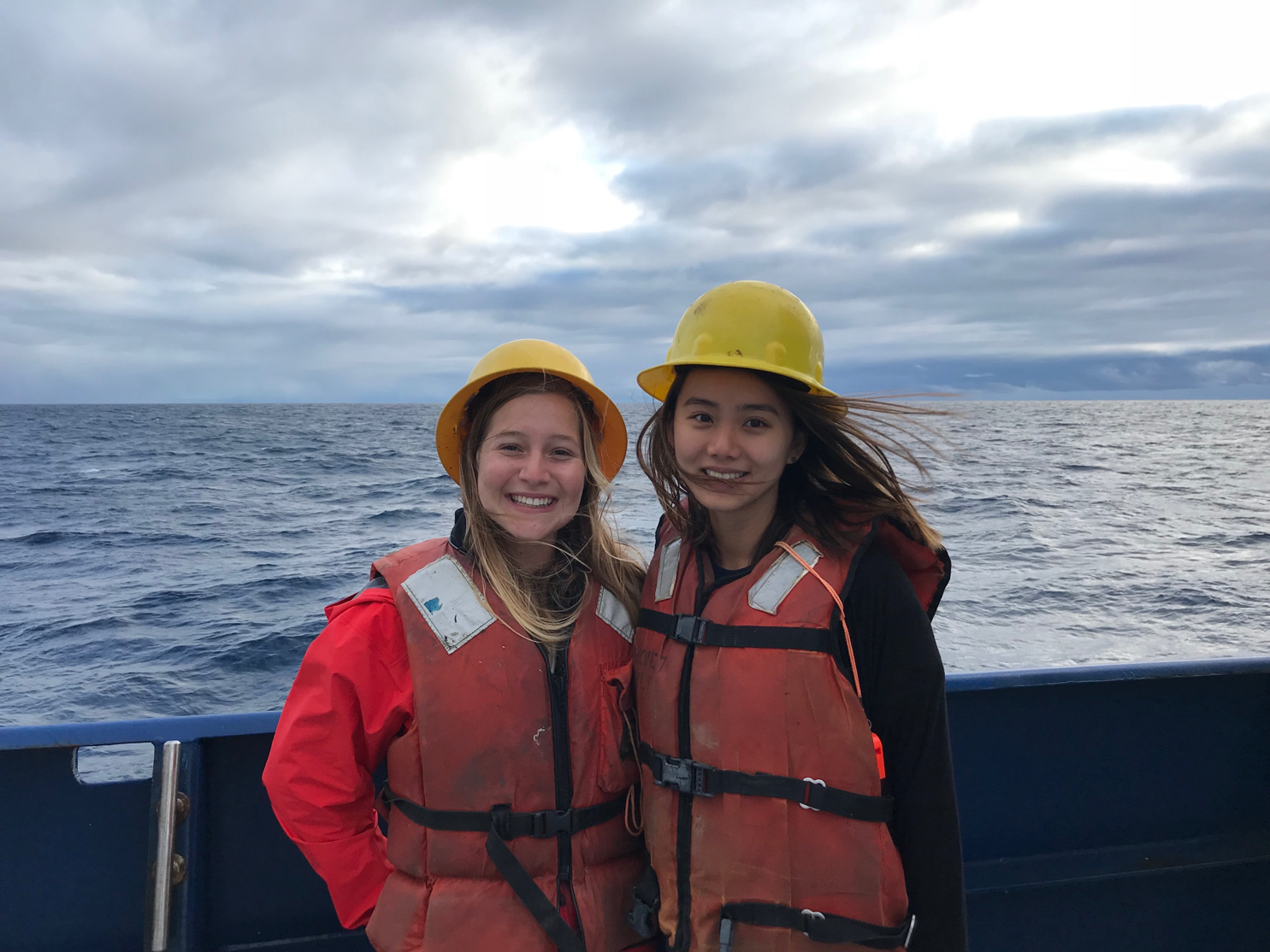 MPL Interns on a Research Cruise
