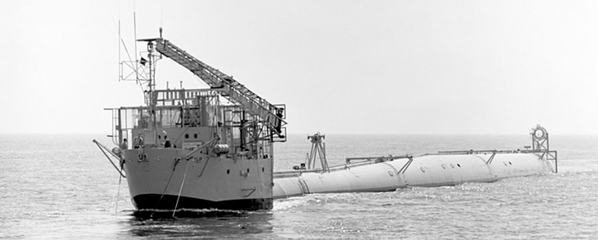 FLIP at sea in August 1972