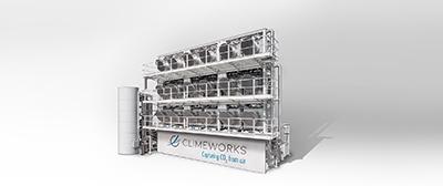 CO2 capture plant. Photo: Climeworks