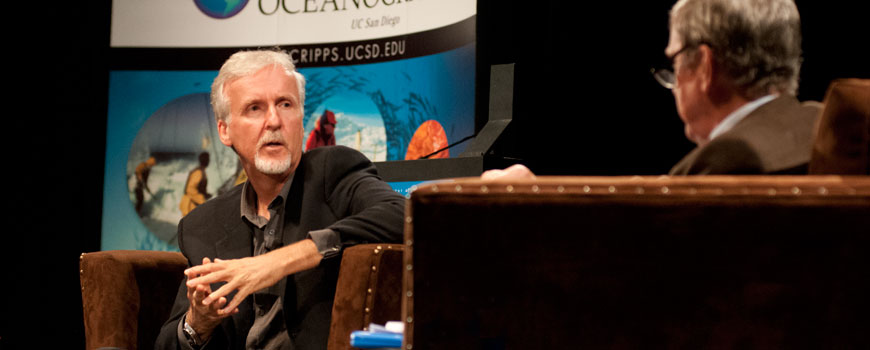 James Cameron talks to John Orcutt
