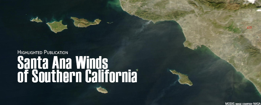 On January 6, 2002, Santa Ana winds blew dust from interior deserts and other dry areas.