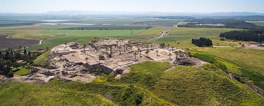 Tel Megiddo by Itamar Grinberg https://www.flickr.com/photos/visitisrael/7723472130