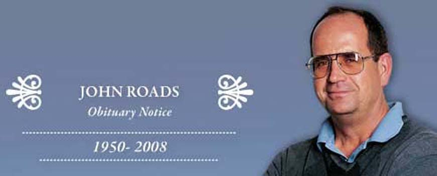 Obituary Notice Climate Forecast Innovator John Roads