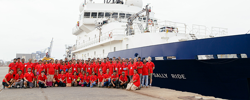 U.S. and Indian scientists prior to July monsoon expedition in the Bay of Bengal. Photo: San Nguyen