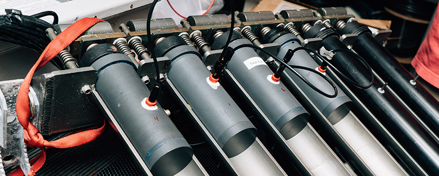 XBT units in a Scripps Oceanography lab