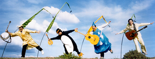 Concert for Kids: Banana Slug String Band to Bring Eco-Fun to Birch Aquarium at Scripps