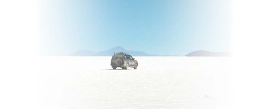 The Hills and Valleys of Earth's Largest Salt Flat