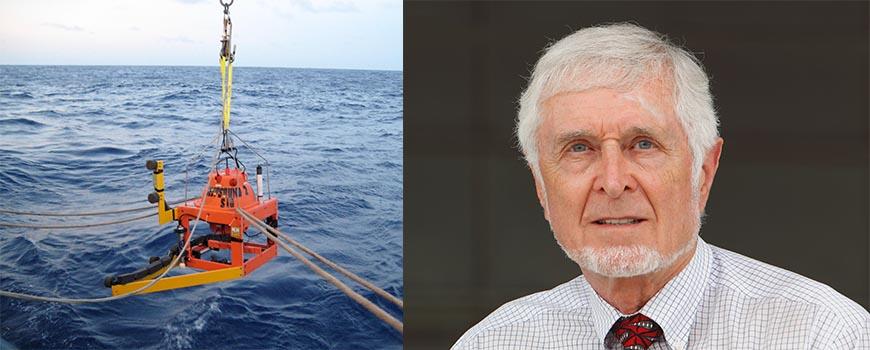 Scripps ocean acoustics expert Michael Buckingham