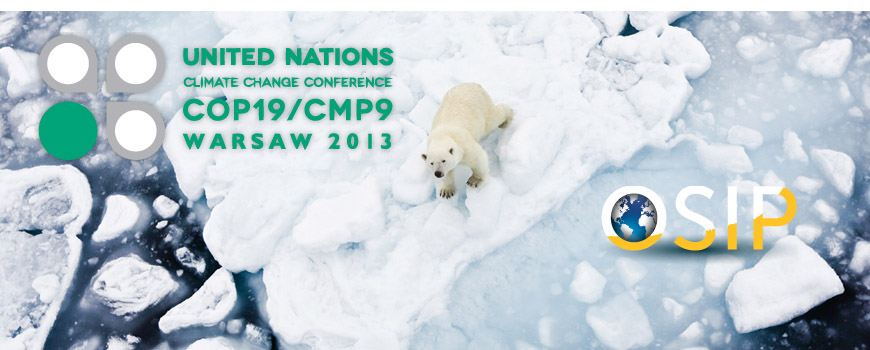 Scripps at COP19 climate conference