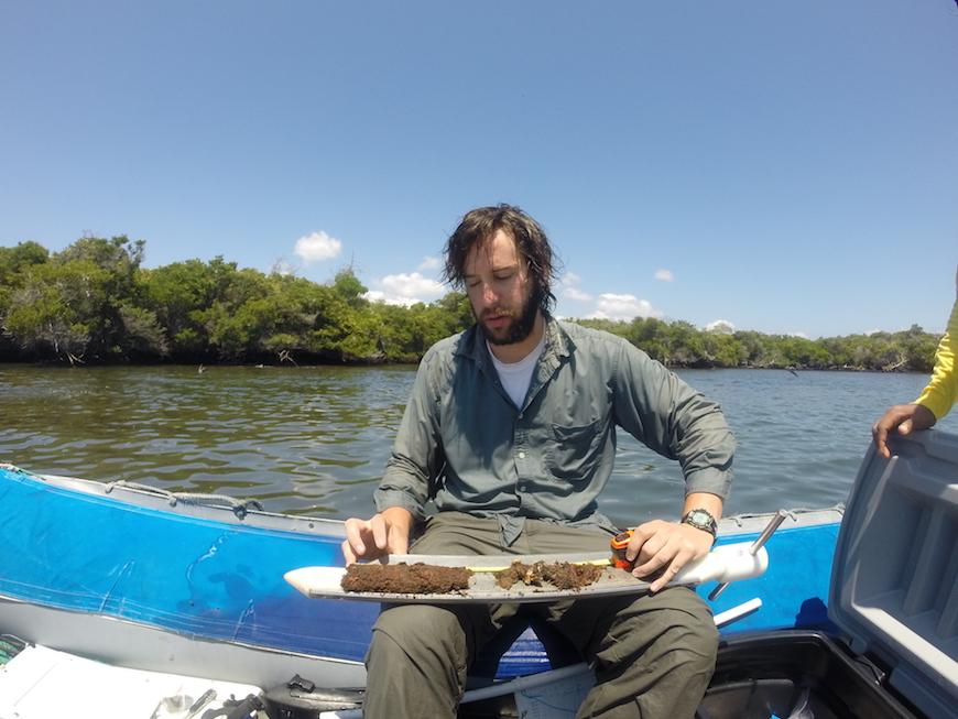 Scripps graduate student Matthew Costa. Photo: Octavio Aburto-Oropeza