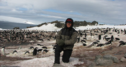 Scripps Student Part of Research Team Uncovering Why Penguin Numbers are Plummeting
