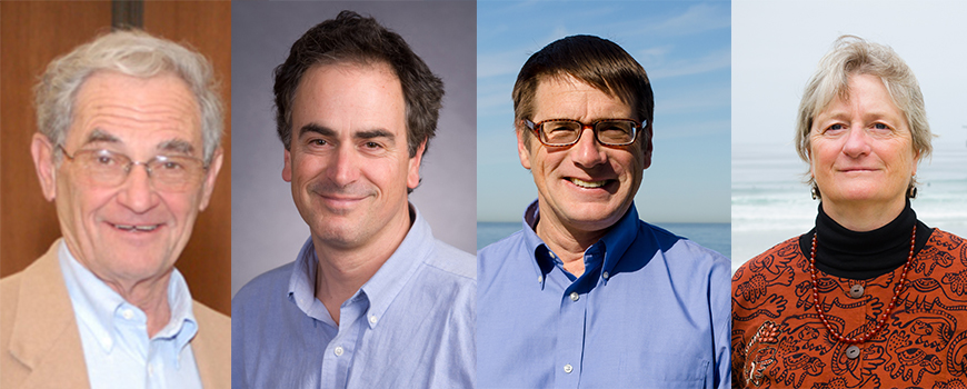 New NAS members Karten, Schroeder, Severinghaus, and Tauxe