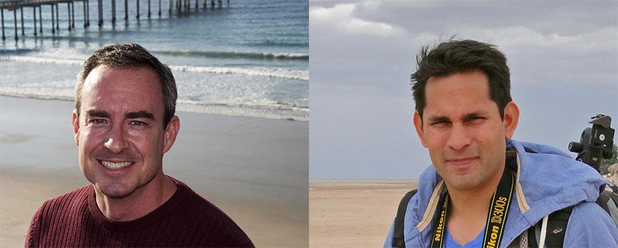 Scripps scientists Brice Semmens and Octavio Aburto-Oropeza