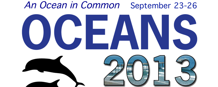 Oceans '13 Conference banner