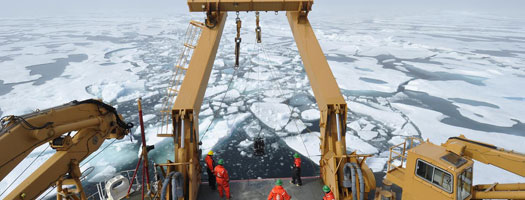 Grant to Scripps and Oregon State Supports Seagoing Research Technicians for Arctic Science Missions