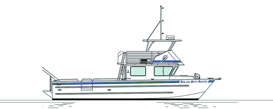 Rendering of R/V Bob and Betty Beyster