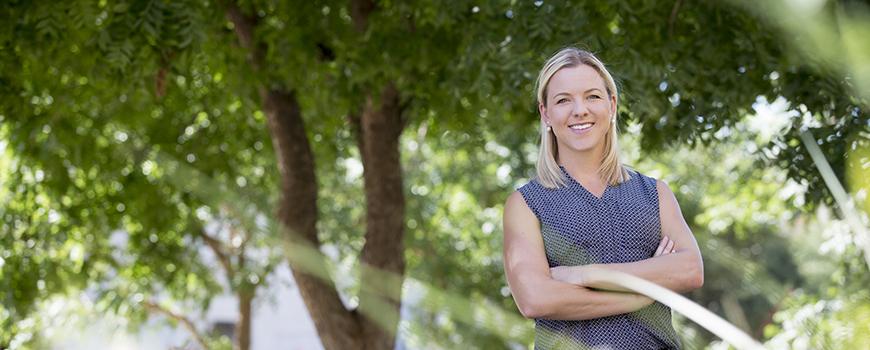 Biometeorologist Jennifer Vanos