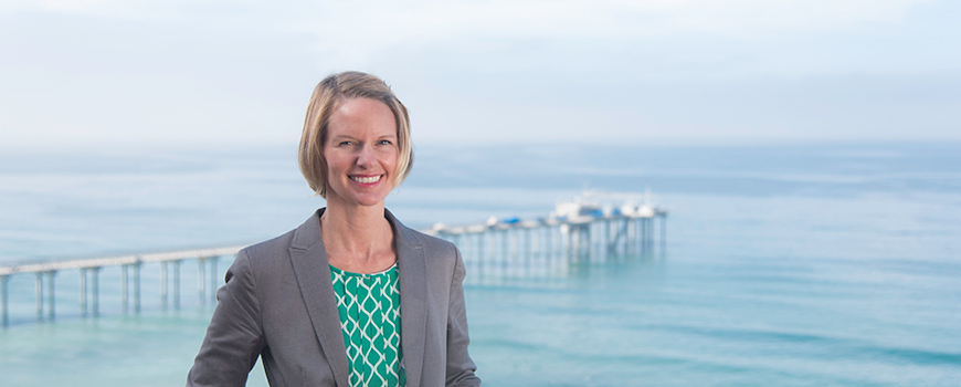 Master of Advanced Studies in Marine Biodiversity and Conservation Executive Director Samantha Murray