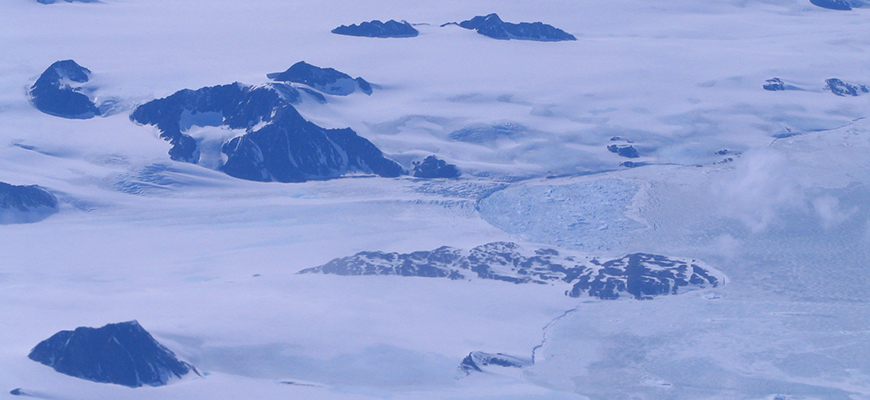 The Antarctic Peninsula. Photo Sinéad Farrell/Univ. of Maryland