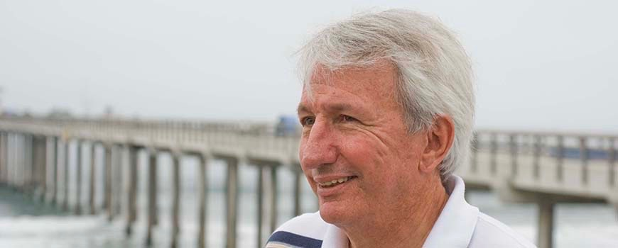 Scripps oceanographer Dean Roemmich.