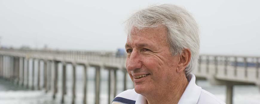 Scripps physical oceanographer Dean Roemmich