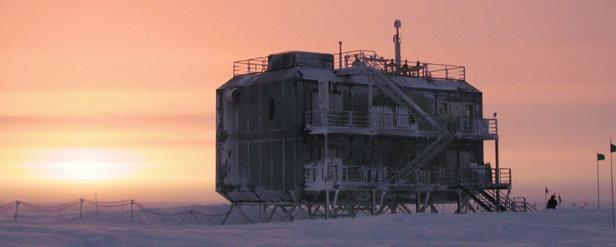 A station in the South Pole.