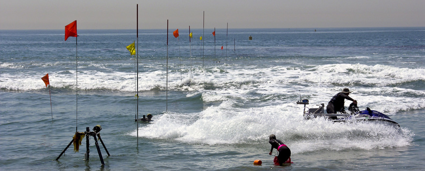 Scripps Oceanography to Study Pollutant Transport in the Imperial Beach Surf Zone