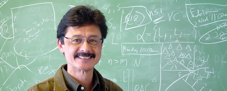 Scripps Professor George Sugihara.