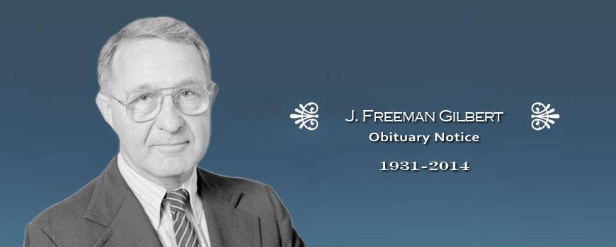 J. Freeman Gilbert