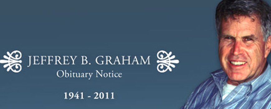 Obituary Notice: Jeffrey B. Graham: 1941-2011