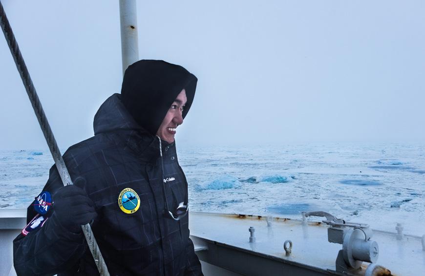 Scripps Oceanography student Jack Pan.