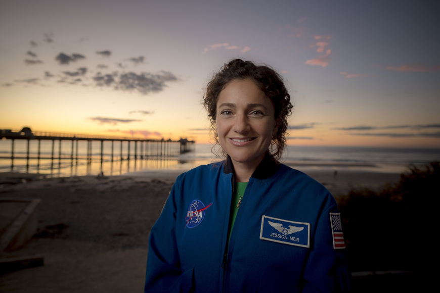Scripps alumna and NASA astronaut Jessica Meir. Photo by Erik Jepsen/UC San Diego Publications