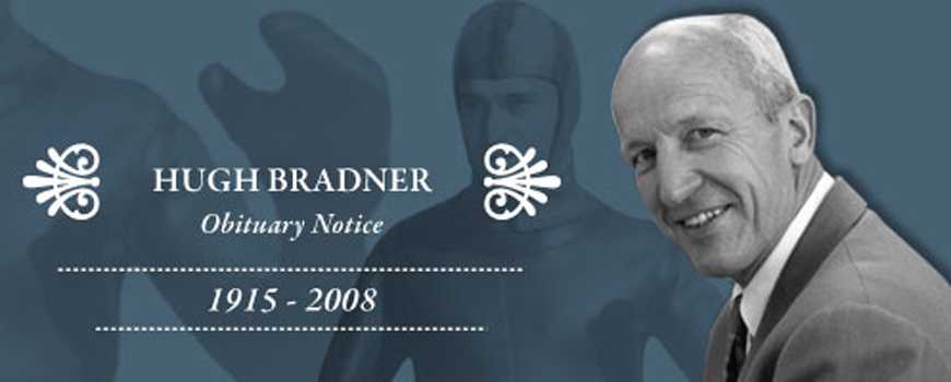 Obituary Notice Renowned Physicist and Inventor of Wetsuit: Hugh Bradner