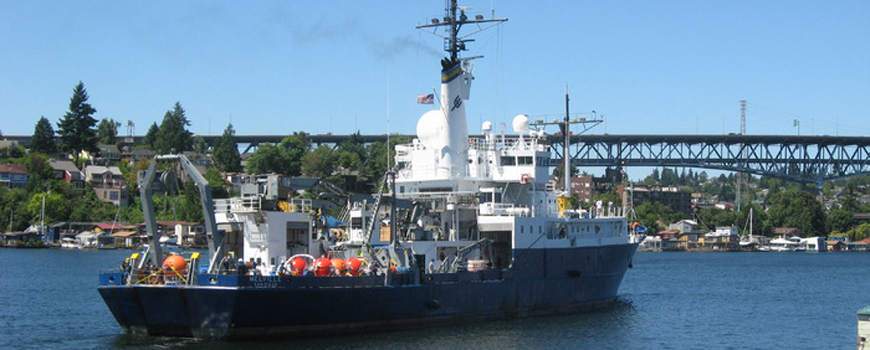 The Scripps/Navy research vessel Melville