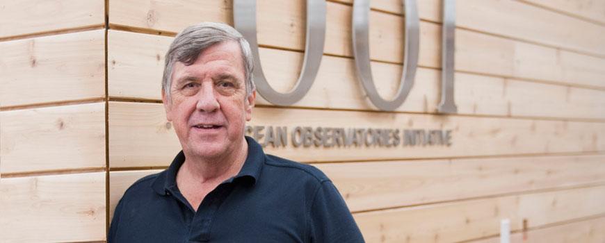 Scripps geophysicist John Orcutt