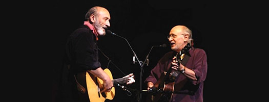 Legendary Folk Singers Peter and Paul to Perform at Birch Aquarium at Scripps