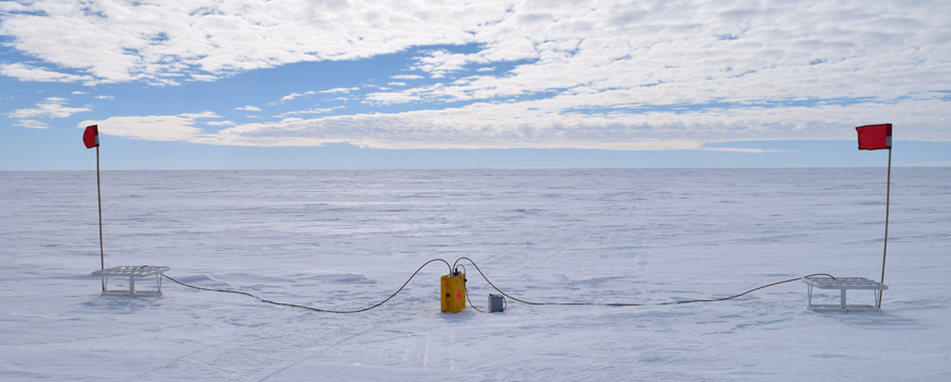 Ross Sea phase sensitive radar system
