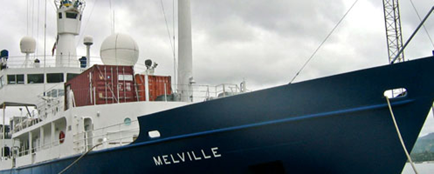 Scripps Research Vessel Melville Returns after Two-and-a-Half Year Voyage