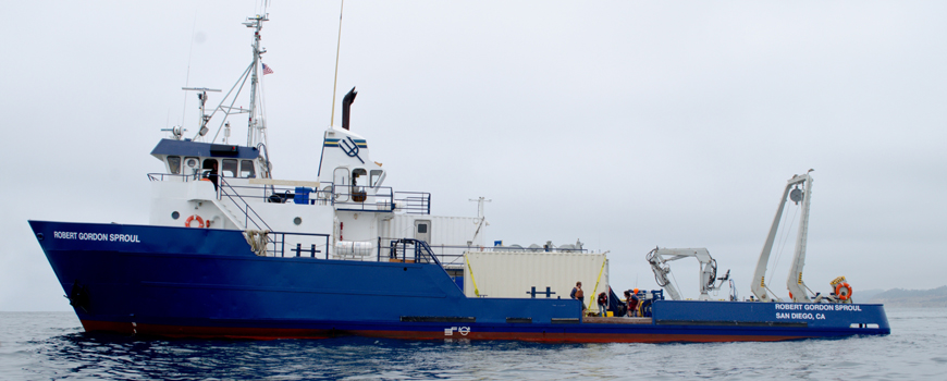 Scripps Institution of Oceanography research vessel Robert Gordon Sproul.