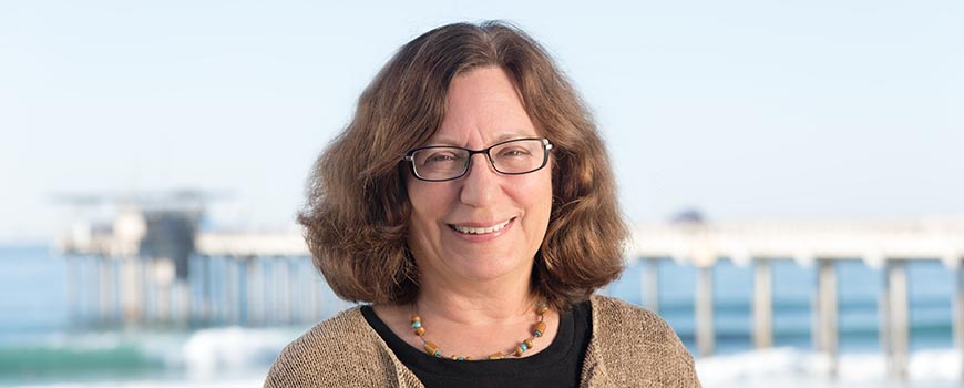 Scripps distinguished professor of oceanography Lynne Talley