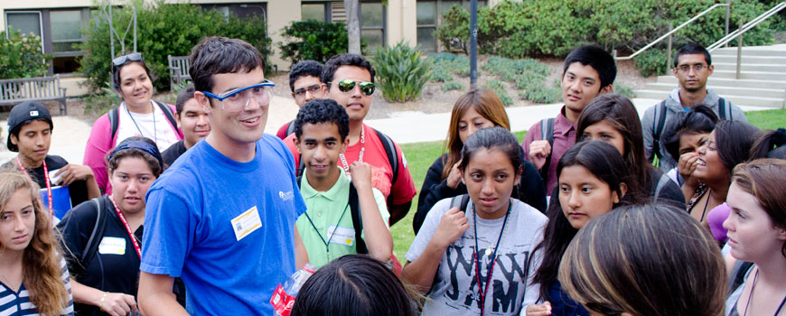 Upward Bound Summer Learning at Scripps Oceanography