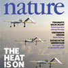 Nature magazine cover featuring Ramanathan's AUVs