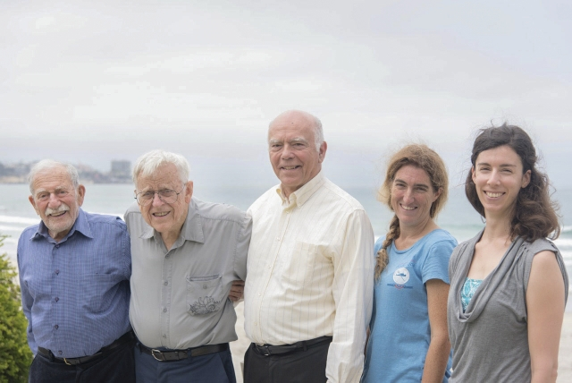 "Five ""generations"" of ocean scientists came together Aug. 6, 2015 at Scripps Oceanography."