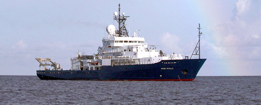 R/V Roger Revelle is a Global Class oceanographic research vessel