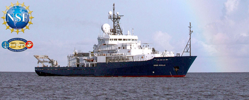 This research aboard R/V Roger Revelle is supported by the U.S. National Science Foundation